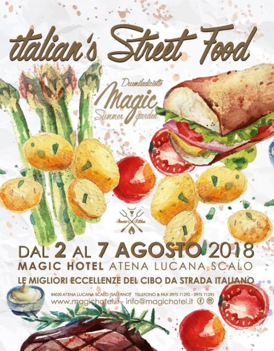 Locandina Italian's Street Food