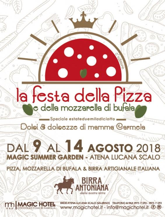 Locandina La Festa della Pizza e della Mozzarella di Bufala