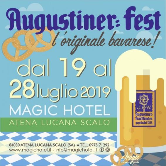 Locandina Augustinerfest, l'originale bavarese.