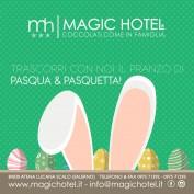 Locandina A Pasqua e Pasquetta il tuo Pranzo al Magic ti aspetta
