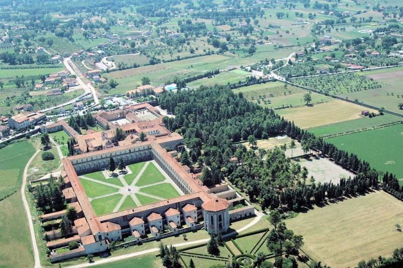 Locandina Certosa di San Lorenzo