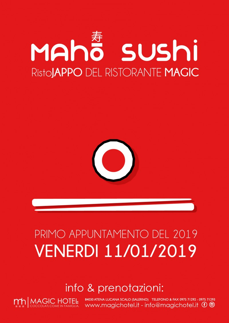 foto articolo Maho Sushi  ritorna a Gennaio