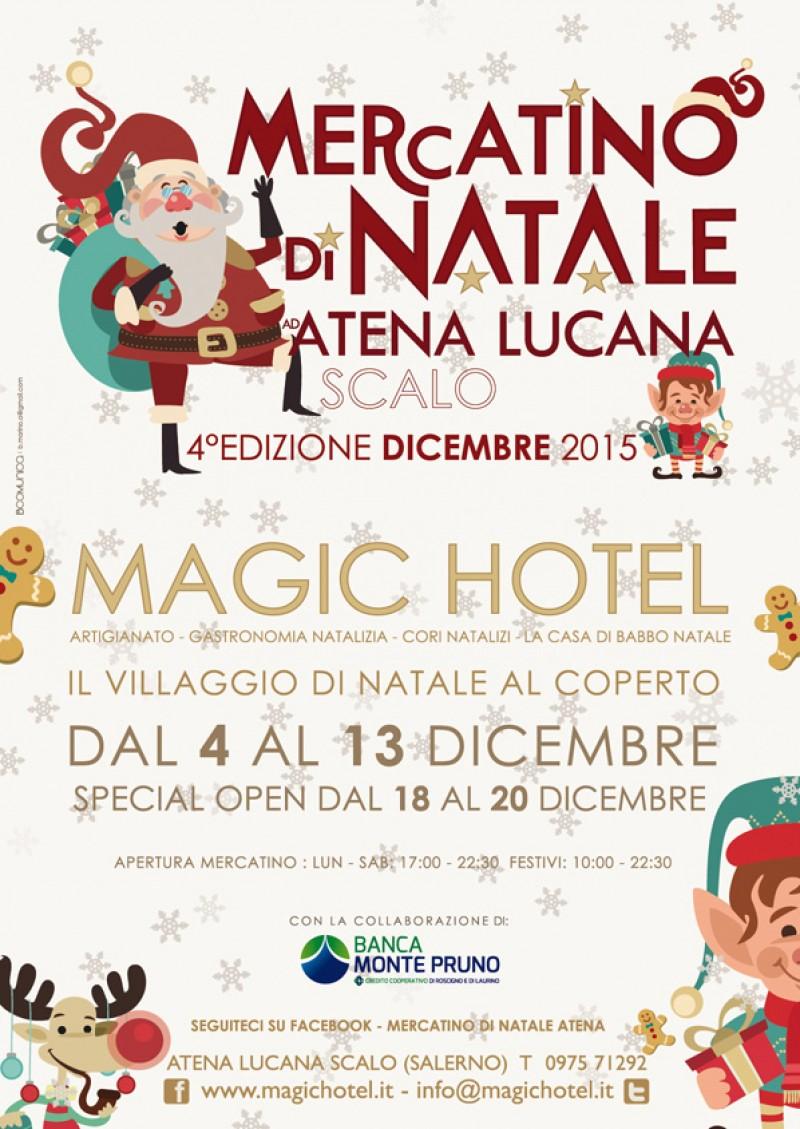 foto articolo MERCATINO DI NATALE AD ATENA LUCANA PRESSO IL PIAZZALE DEL MAGIC HOTEL