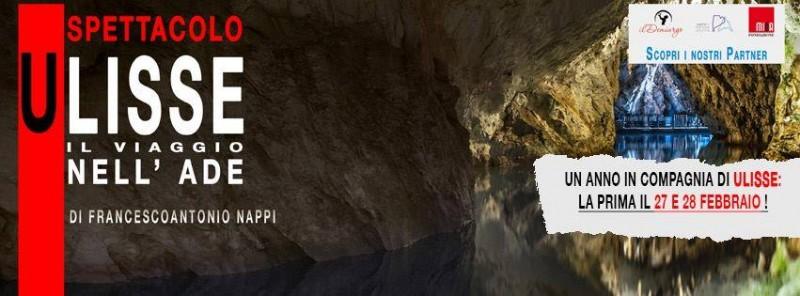 foto articolo Il 2016 all'insegna di Ulisse alle Grotte di Pertosa-Auletta