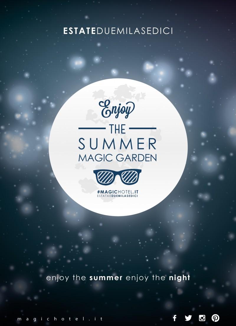 foto articolo A luglio riapre il Summer Magic Garden. Tanti eventi originali e ottimo cibo fino a fine agosto