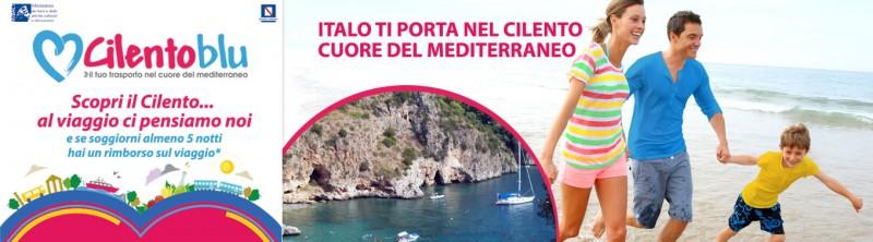 foto articolo Con Cilento Blu viaggia con Italobus gratis e scopri il Vallo di Diano