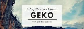 Geko Festival 6.e 7.Aprile ad Atena Lucana