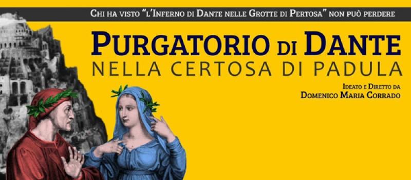 Locandina Weekend all'insegna di Dante Alighieri alla Certosa di San Lorenzo