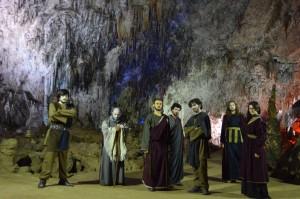 Locandina Ulisse nelle Grotte e di Pertosa e Auletta