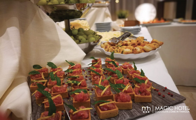 Foto aperitivi e appetizer feste private magic hotel atena lucana