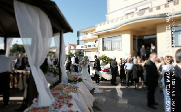 Foto panoramica sala ristorante atena lucana