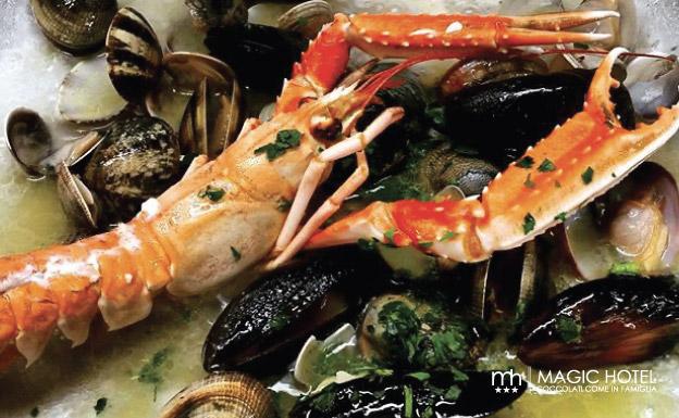 Foto pesce fresco in padella ristorante vallo di diano atena lucana