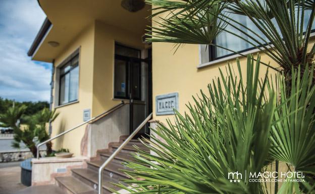 Foto ingresso reception hotel sala consilina