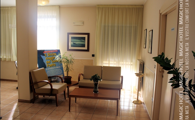 Foto salotto relax albergo